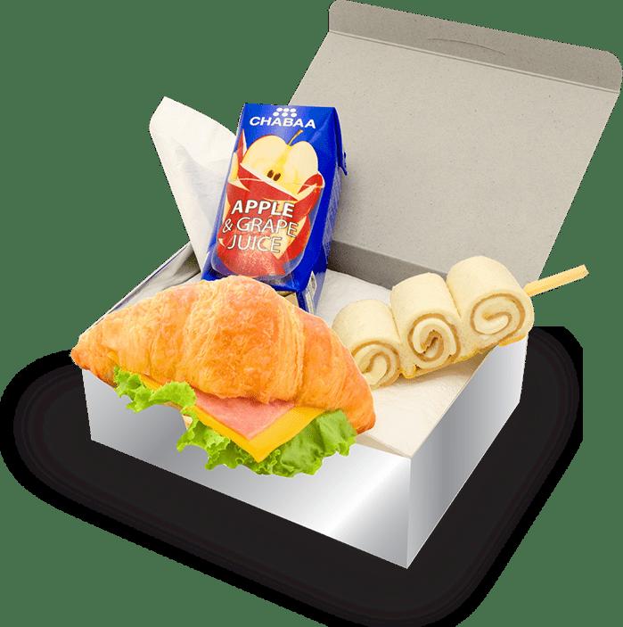สแน็คบ๊อก ชุดเบรคอาหารว่าง Delivery