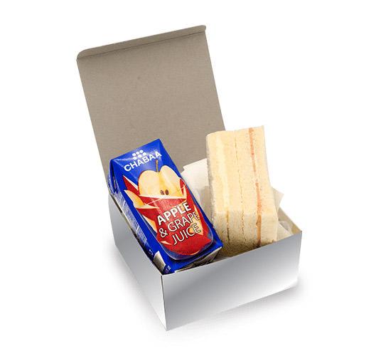 Snack Box ชุดอิ่ม Premium ราคา 65 บาท