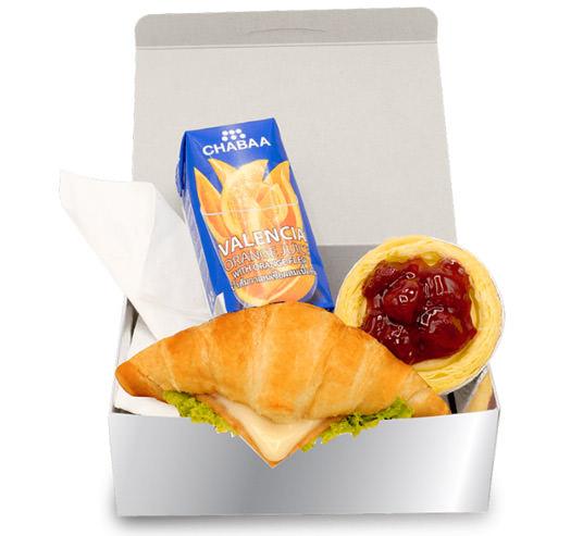 Snack Box ชุดอิ่มสุดคุ้ม ราคา 35 บาท